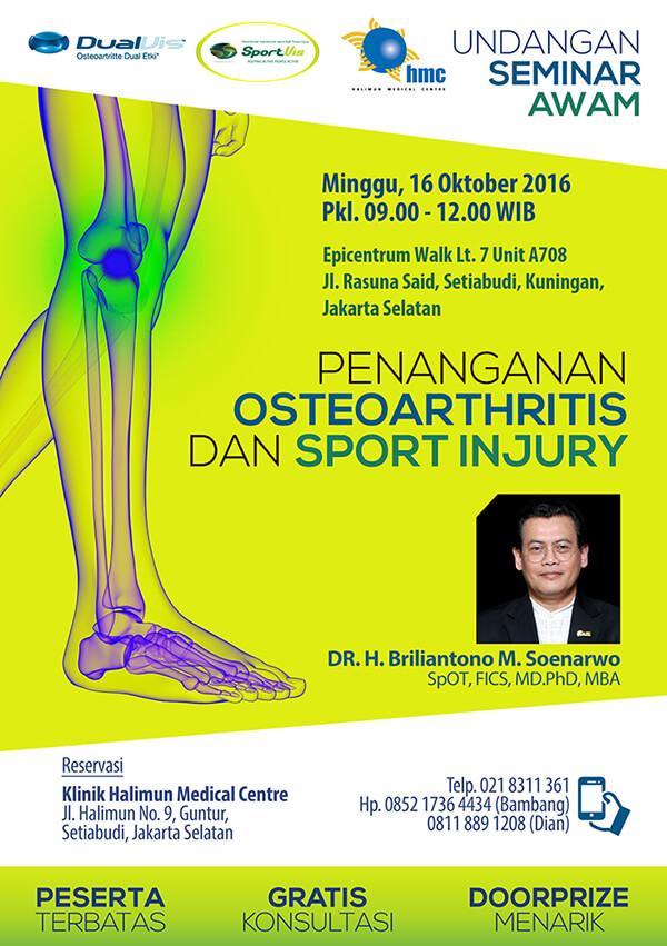 Seminar Awam Osteoarthritis